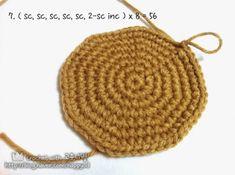 [코바늘] 바구니 뜨기 _ 도안,과정샷 : 네이버 블로그 Straw Bag, Crochet Hats, Beanie, Bags, Fashion, Knitting Hats, Handbags, Moda, Fashion Styles