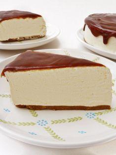 Tarta de mousse de crema pastelera