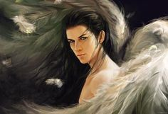 Lucifer: The Fallen Angel (Biblical Stories Explained) Angels Among Us, Angels And Demons, Fantasy Male, Dark Fantasy, Angelus, Pirate History, Male Angels, Homo, Angel Wallpaper