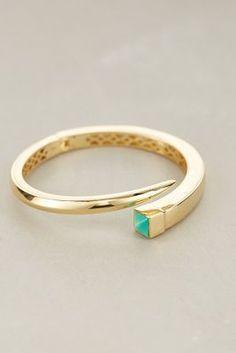 Melanie Auld Jewelry Stone Edge Cuff #anthroregistry