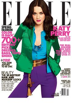 Best-selling cover: Katy Perry, March 2011