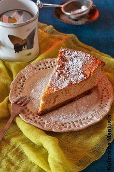 Kulinarna Maniusia - blog kulinarny: Sernik jogurtowy