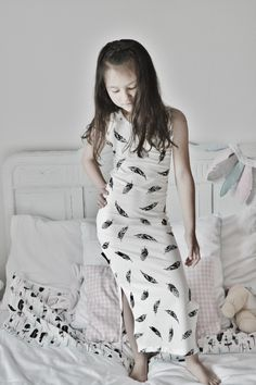 Jaeleigh in her Wazzhappening Feather Maxi Dress - my beauty