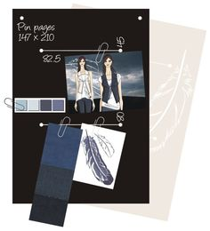 Pin pages - inspirational pictures to put on the wall... Decorative cardboard - easily removable, mobile, help to organize your photos, materials, etc.