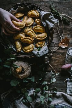 A delicious recipe for some wintery root vegetable empanadas made from the last of the veggies from Eva Kosmas Flores' the garden! Ladybug Snacks, Ladybug Cakes, Owl Cakes, Empanadas, Food Photography Styling, Food Styling, Edible Arrangements, Root Vegetables, Edible Art