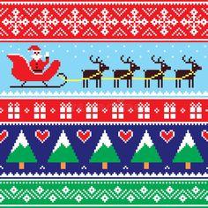 Celtic Patterns, Tribal Patterns, Santa And Reindeer, Reindeer Christmas, Reindeer Sweater, Christmas Ideas, Xmas, Pumpkin Face Designs, Aboriginal Patterns