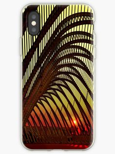'Olympic sunset in Athens' iPhone Case by Hercules Milas