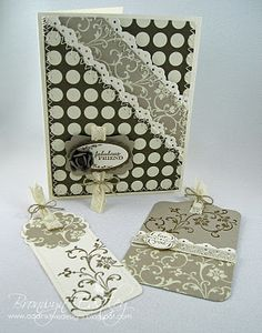 another view of this gorgeous card w/tags