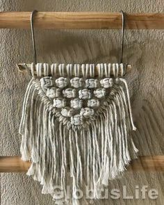 Macrame Design, Macrame Art, Macrame Projects, Macrame Thread, Macrame Plant Hanger Patterns, Macrame Wall Hanging Patterns, Macrame Wall Hangings, Free Macrame Patterns, Woven Wall Hanging