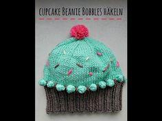 Cupcake Beanie stricken - schoenstricken.de