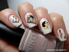 nail polish crazy : Lady Queen: Elegant Lady Audrey Hepburn Jewelry Sticker Lipsticks Transfer Sticker Water Decals   http://www.ladyqueen.com/elegant-lady-audrey-hepburn-jewelry-sticker-lipsticks-transfer-sticker-water-decals-na0447.html