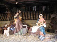 Belén clásico de la Asociación Belenista de Oviedo - Navidad 2014 • Nativity scene
