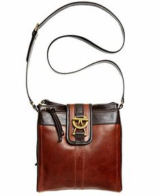 Tigananello Handbag, Vintage Classics Leather Organizer cross body. The details and finishes on the bag are so equestrian :)