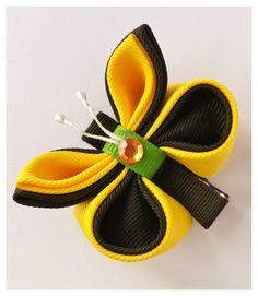 Kanzashi ribbon butterfly