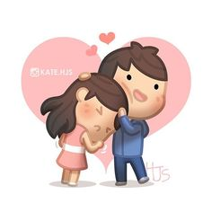 It's ok ❤️ 괜찮아 괜찮아 ^^ #hjstory #love #cute #couple #drawing #만화 #캐릭터 #그림#사랑