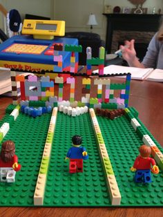 LEGO Challenge - build a bowling alley!