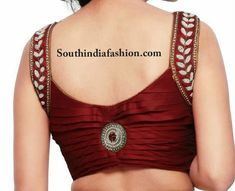 red-pleated-blouse-with-pearl-work.jpg 686×557 pixels