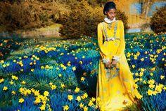 Publication: Harper`s Bazaar UK June 2017 Model: Tami Williams, Ophelie Guillermand, Sui He Photographer: Erik Madigan Heck Fashion Editor: Leith Clark Hair: Tomi Kono
