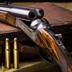 Westley Richards perfected the the drop lock (hand detachable lock)in 1897..beautiful rifle.