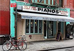 Image result for pianos lower east side