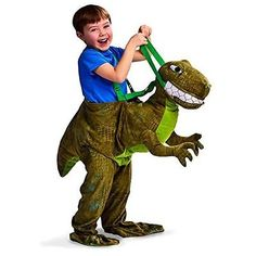 New kids dress up riding costume #dinosaur #fancy dress ages 3-7 #years,  View more on the LINK: 	http://www.zeppy.io/product/gb/2/151778241408/