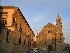 Ubeda is such a lovely little town in Andalucia. The parador is spectacular.