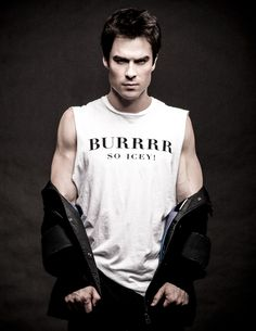 Ian Somerhalder... there is nothing ICEY about him ;)