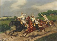 Charge of the Prussian Cuirassiers, Franco-Prussian War