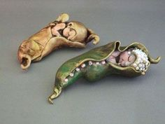 Marilyn Radzat Fantasy Art. I think this is polymer clay... by angelique