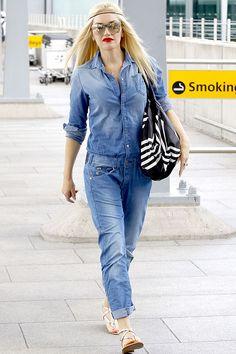We're loving Gwen Stefani's sexy mechanic look!
