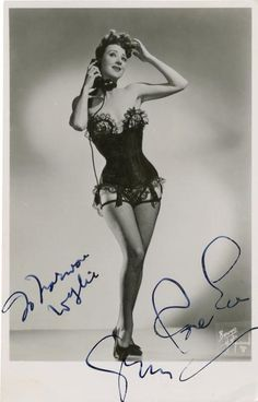 gypsy rose lee biography: