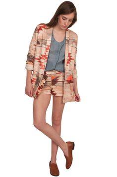 Valentine Gauthier Organic Cotton Kilim Blazer