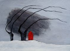 winterdijk Acryl op papier http://nellyvanantwerpen.exto.nl