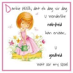 Goeie Nag, Goeie More, Afrikaans Quotes, Prayers, Fictional Characters, Amanda, Phone, Telephone, Prayer