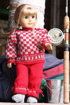 American Girl Doll Knitting Patterns | American Girl Doll Sporting Outfit