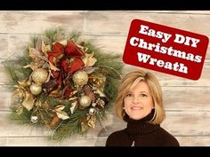 How to Make a Wreath for the Holidays in under 30 MINUTES!