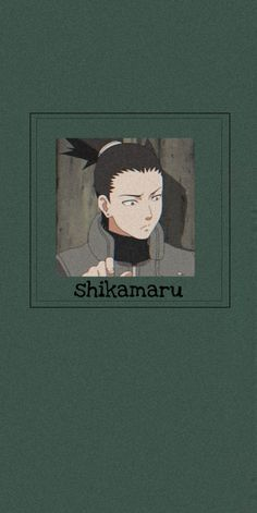 Shikamaru wallpaper