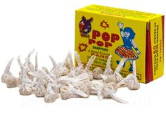 The one thing standing between you and having the time of your life is getting our old school Pop Pop Snappers!  These classic bang snaps aren't just fun to throw, they're the best noisemakers around!