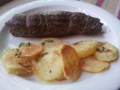 Lamb and roasted potatoes ♡