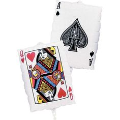 Foil Playing Card Balloon