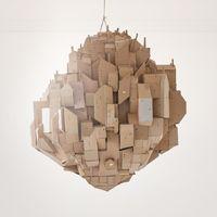 Nina Lindgren. Cardboard floating city