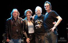 Phil May, Esther Rantzen, Dick Taylor and Glenn Hughes Childline Rocks at the O2 Indigo - Photocall