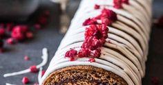 Runebergin kääretorttu maistuu aidolta runebergintortulta ja on rakenteeltaan sopivan rouheinen. Katso resepti, jolla leivot ihanan runebergin kääretortun! Sausage, Cooking Recipes, Baking, Pastries, Death, Sweets, Food, Drinks, Sweet Pastries