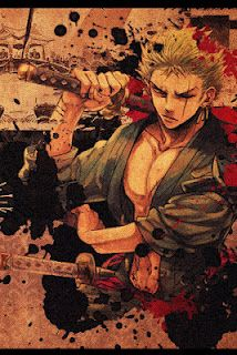 One Piece anime Zoro