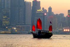 Victoria harbour Hong Kong City