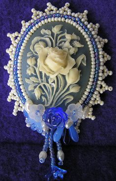 Thanks for this idea for using brooches. cameo 002 | Flickr - Photo Sharing!