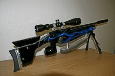 CZ 200S with custom airbrushed stock