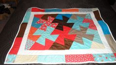 twister baby quilt that was a weekend success Twister Quilts, Baby Quilts, Success, Blanket, Big, Easy, Projects, How To Make, Home