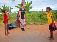 Katy Perry Visits With Poverty-Stricken Children in Madagascar. Katy Perry is showing off her caring side. The pop star has paid a visit to Madagascar as part of an official trip with UNICEF to bring attention to the plight of children living in poverty there.