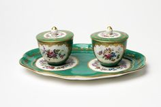 The most important #French #porcelain factory was founded in 1740 in the royal chateau of #Vincennes. In 1756 it was transferred to Sèvres, the other side of Paris, and shortly after was bought by Louis XV. The support and protection of the king and his mistress, Madame de #Pompadour, enabled it to secure the best artists, sculptors, designers and chemists. Sèvres porcelain soon became the most sought after in Europe.
